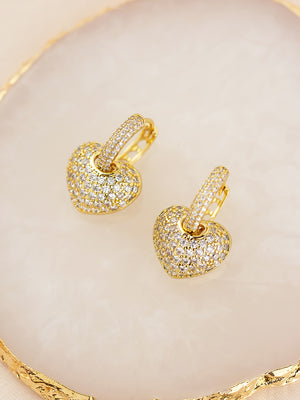 Diva Gold Earrings