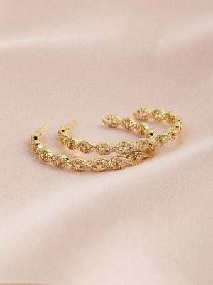 Marcella Gold Earrings