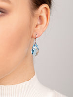 Olivia Earrings | Aquamarine