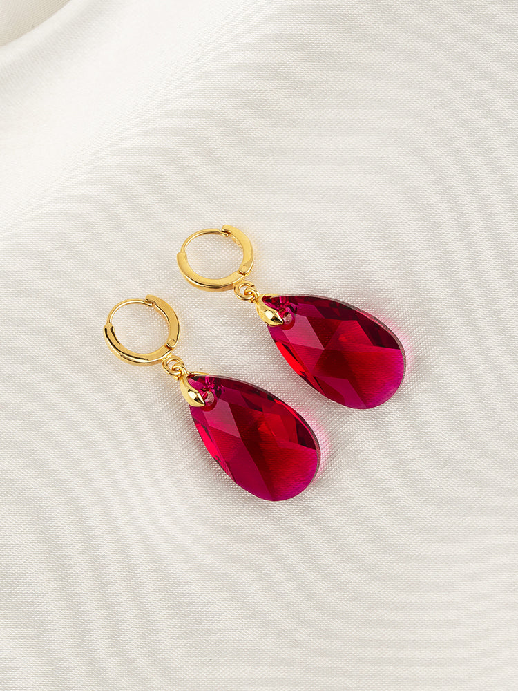 Load image into Gallery viewer, Olivia Earrings | Scarlet