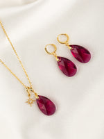 Olivia Jewelry Set | Ruby