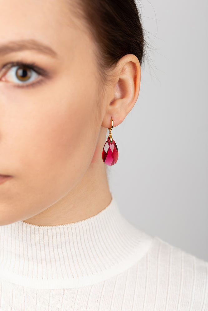 Olivia Earrings | Scarlet