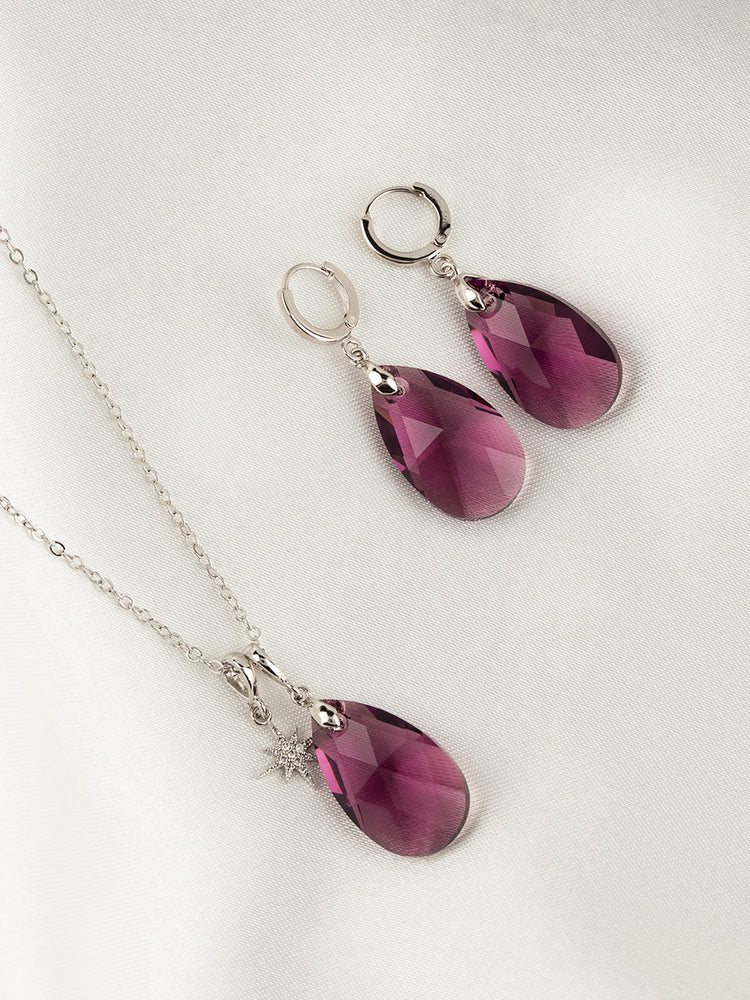 Olivia Jewelry Set | Amethyst
