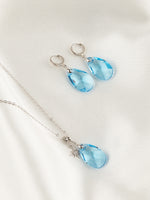 Olivia Jewelry Set | Aquamarine