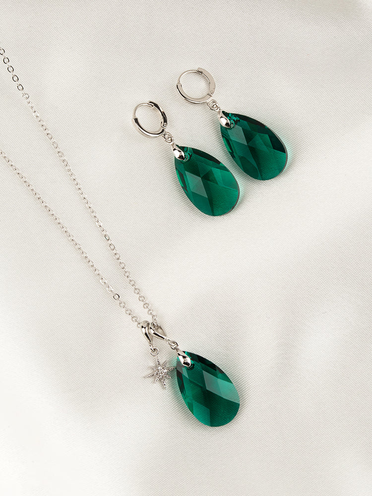 Olivia Jewelry Set | Emerald