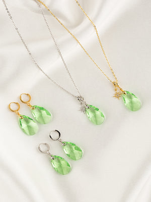 Load image into Gallery viewer, Olivia Necklace Set | Peridot