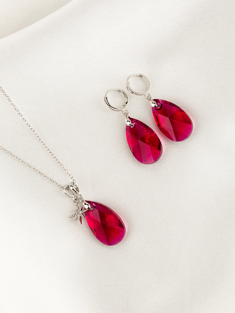 Olivia Jewelry Set | Scarlet