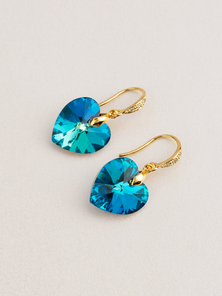 Load image into Gallery viewer, Amour Earrings | Bermuda Blue