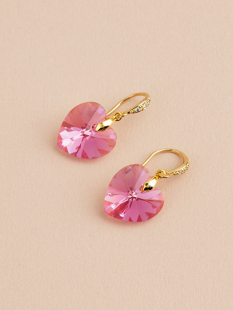 Amour Earrings | Rose AB