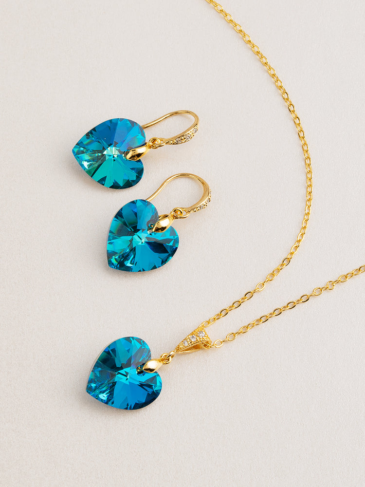 Amour Jewelry Set | Bermuda Blue