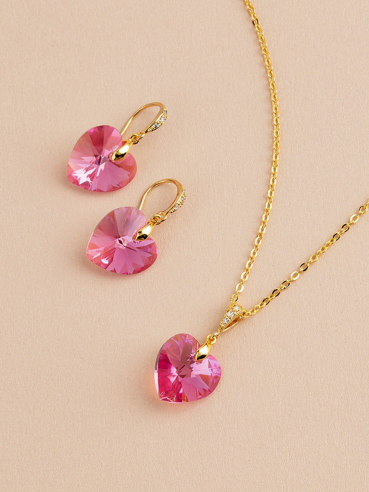 Amour Jewelry Set | Rose AB