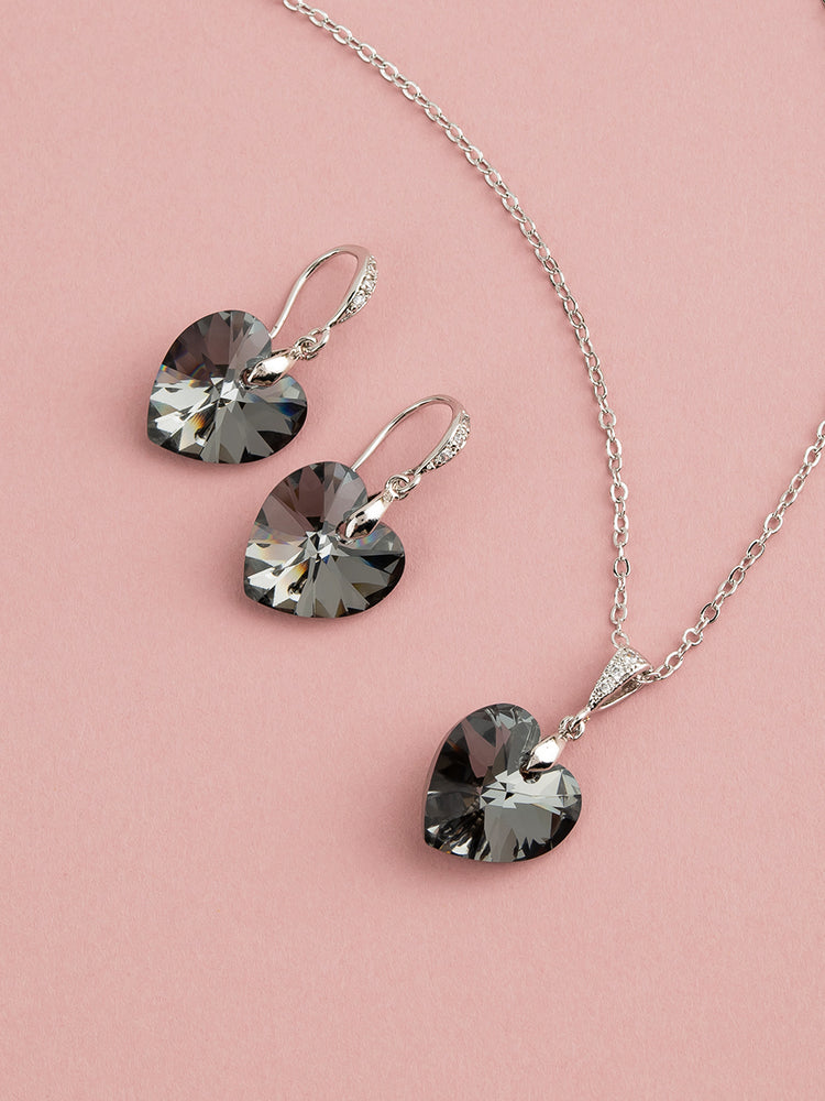 Amour Jewelry Set | Silver Night
