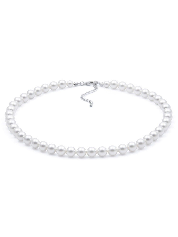Load image into Gallery viewer, Classic Pearl Necklace