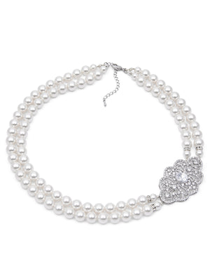 Adaline Pearl Necklace