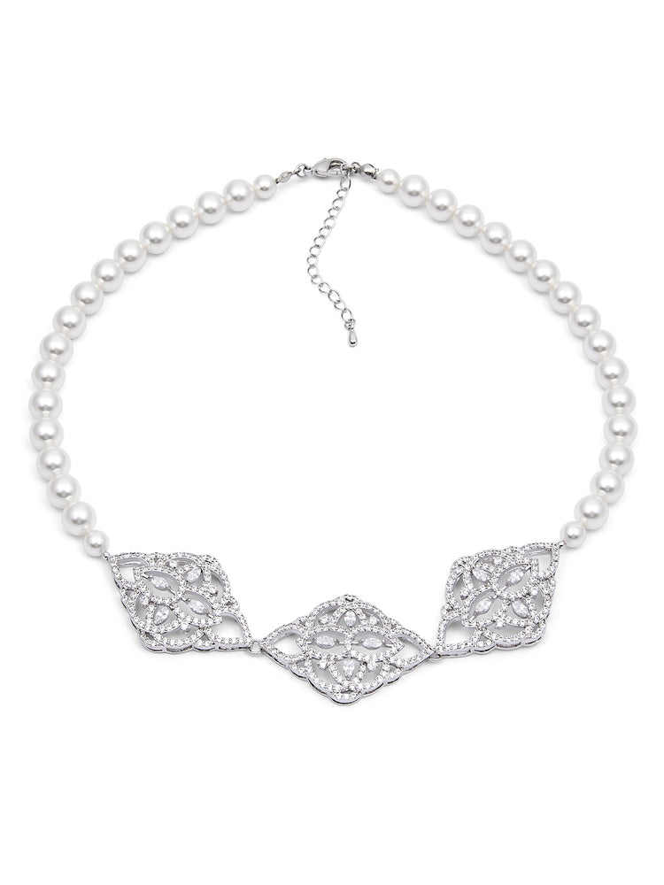 Load image into Gallery viewer, Thalia Pearl Necklace II