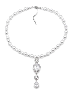 Load image into Gallery viewer, Vesta Pearl Necklace II