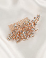 Caia Rose Gold Hair Comb
