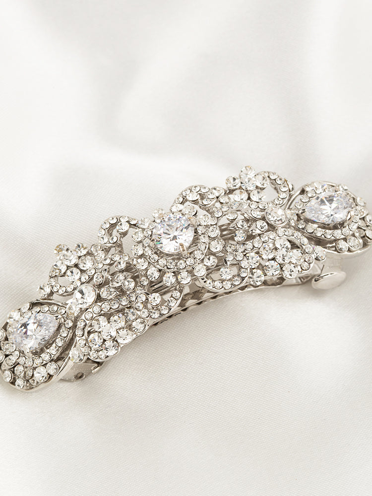 Load image into Gallery viewer, Wedding Hair Barrette
