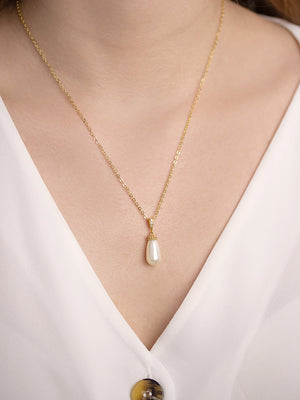 Load image into Gallery viewer, Classic Teardrop Gold Jewelry Set