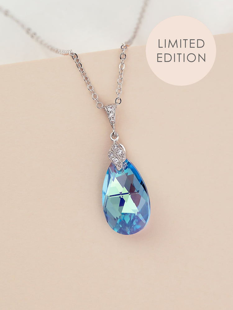 Load image into Gallery viewer, Naomi Pendant | Aquamarine AB