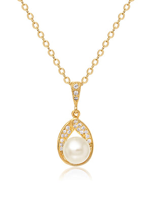 Load image into Gallery viewer, Astra Gold Pendant | Short
