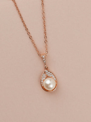 Load image into Gallery viewer, Astra Rose Gold Pendant