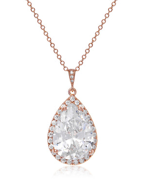 Load image into Gallery viewer, Vesta Classic Rose Gold Pendant | Short