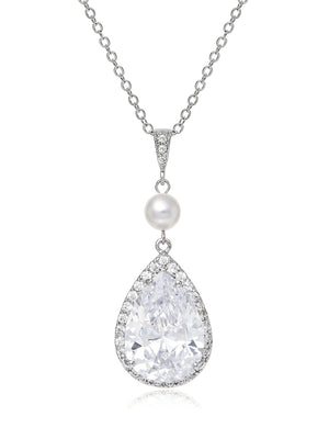 Load image into Gallery viewer, Vesta Pearl Pendant