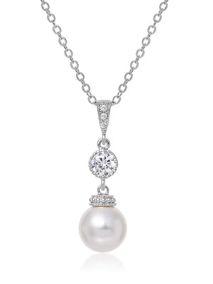 Load image into Gallery viewer, Classic Pearl Pendant | Medium