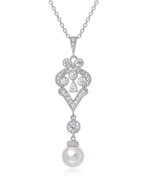 Load image into Gallery viewer, Ondine Pearl Pendant