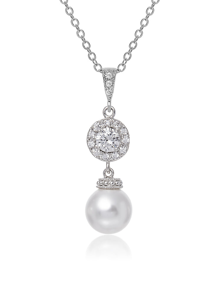 Camille Pearl Pendant