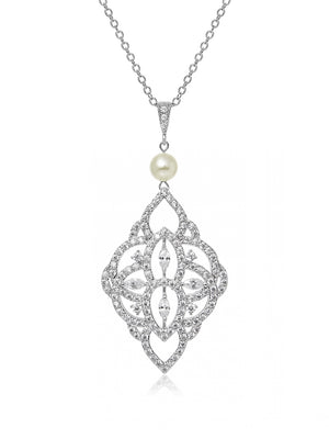 Load image into Gallery viewer, Thalia Pearl Pendant