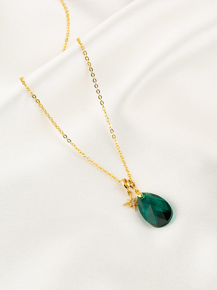 Olivia Necklace Set | Emerald