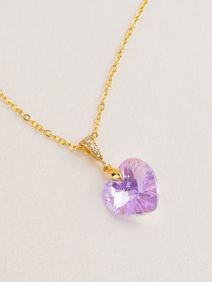 Load image into Gallery viewer, Amour Pendant | Violet AB