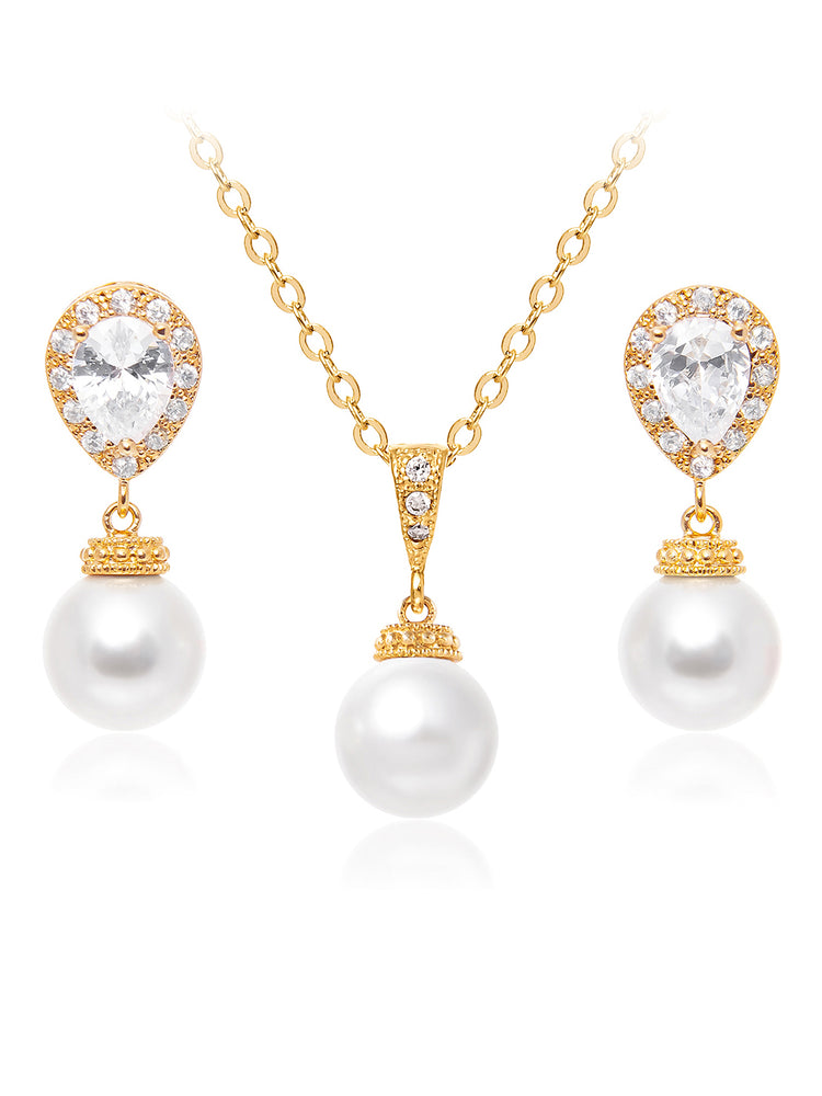 Electra Gold Jewelry Set