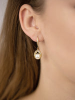 Astra Gold Earrings | Short
