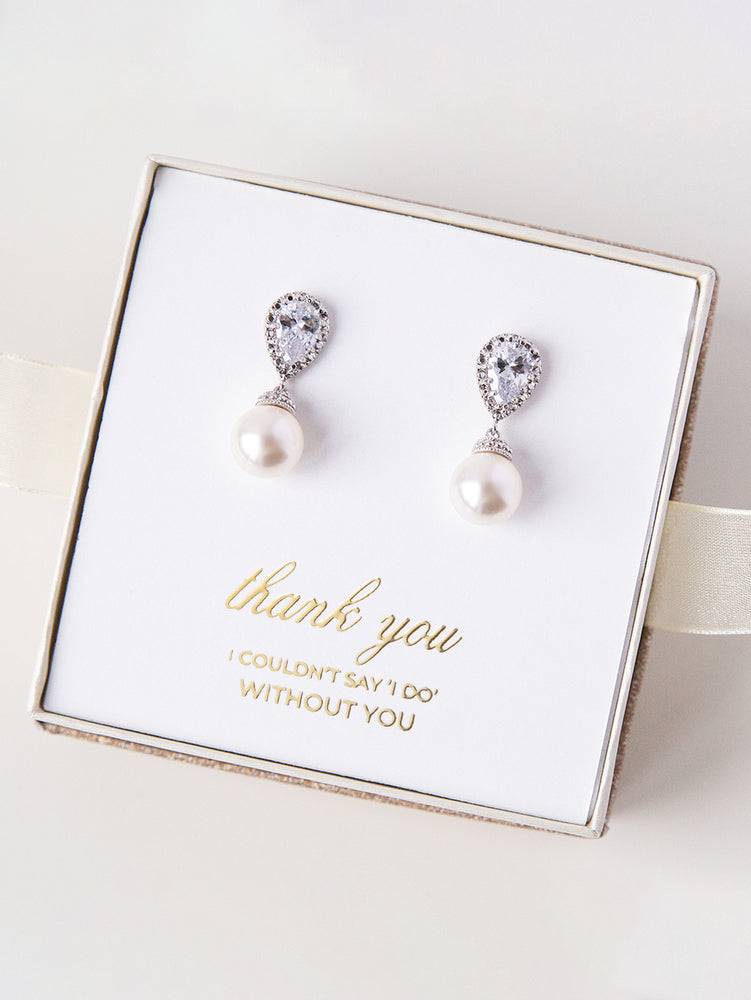 Belle Earrings (Bridesmaid)