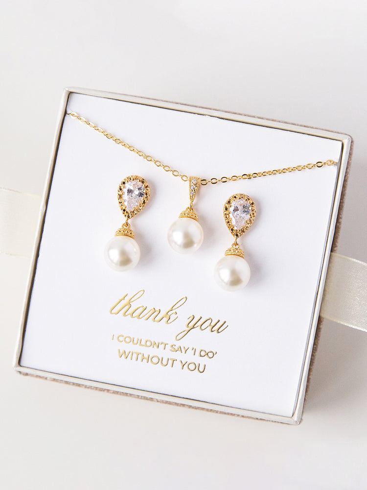 Belle Gold Jewelry Set