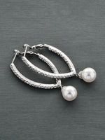 Classic Long Pearl Earrings