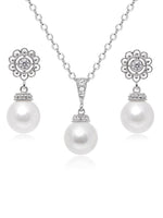 Sylvia Pearl Jewelry Set