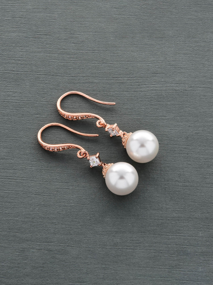 Ophelia Rose Gold Earrings