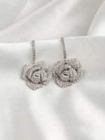 Rose Earrings (Outlet)