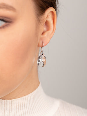 Load image into Gallery viewer, Olivia Earrings | Crystal