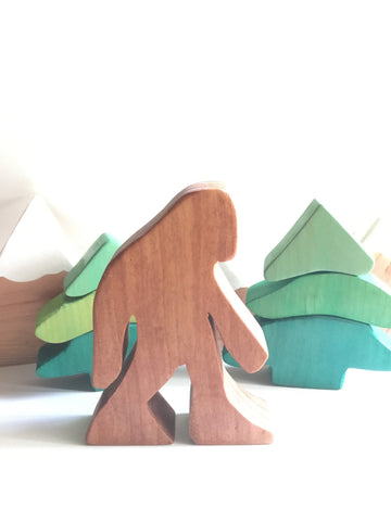 Redwood Bigfoot figure