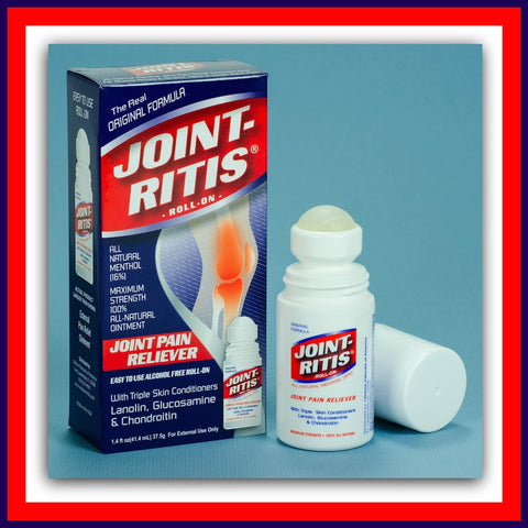 Joint-Ritis Roll-On - Buy 12 Get 4 FREE + Free Shipping