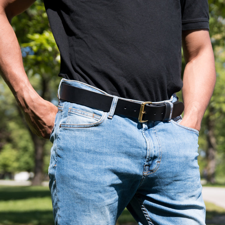 Wide Belt - Black