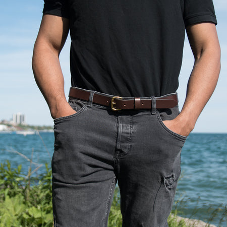 Slim Belt - Brown