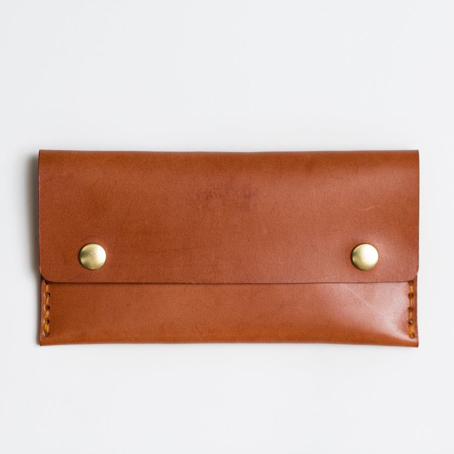Apogee handstitched womens leather wallet