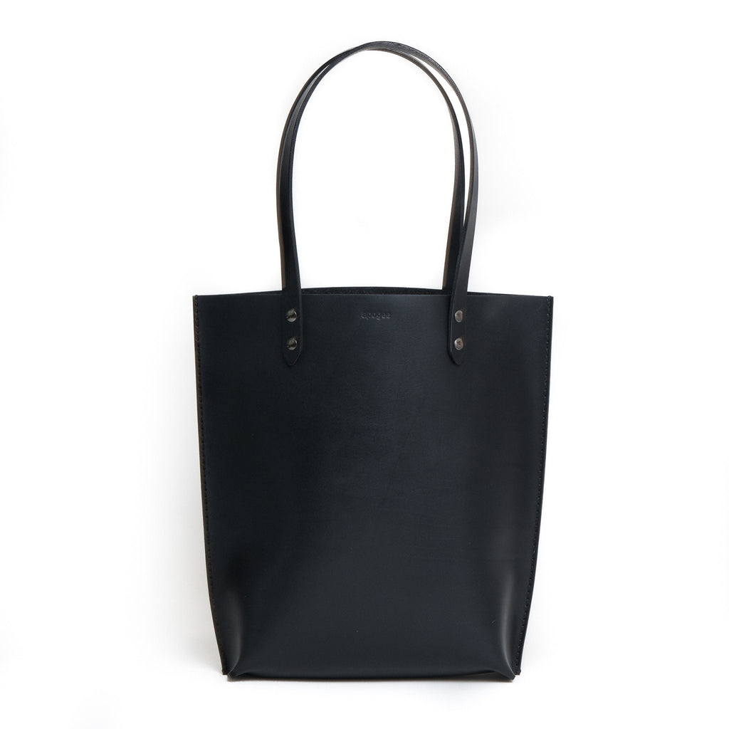 Structured Daily Tote - Black