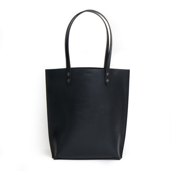 Structured Daily Tote - Black - Apogee Goods